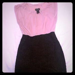 Enfocus Studio chiffon and lace dress size 8